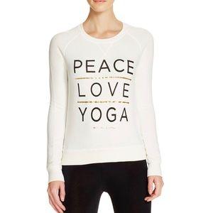 Spiritual Gangster Peace Love Yoga Crew Pullover
